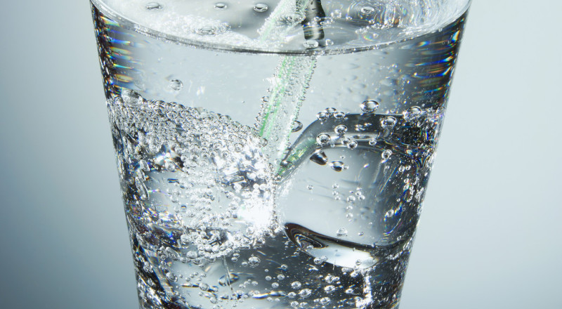 Glass Wasser